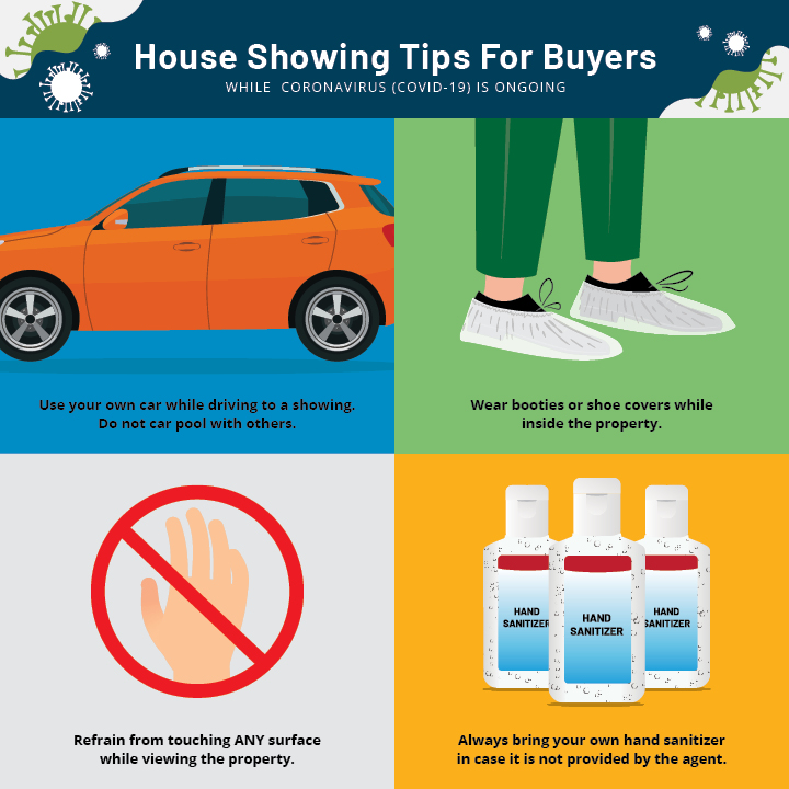 House Showing Tips for Buyers While Coronavirus is Ongoing