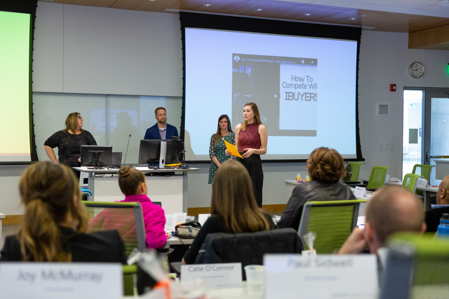 Students in classroom during the 2019 UMKC Realtor Leadership Academy session