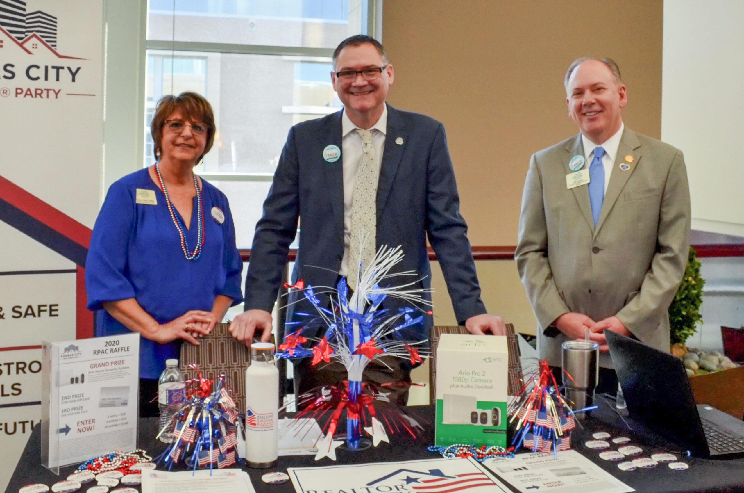 Nancy Davis, Derek Ramsay and Jeff Carson